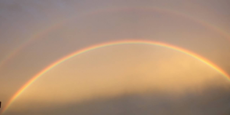 Double Rainbow, July 24