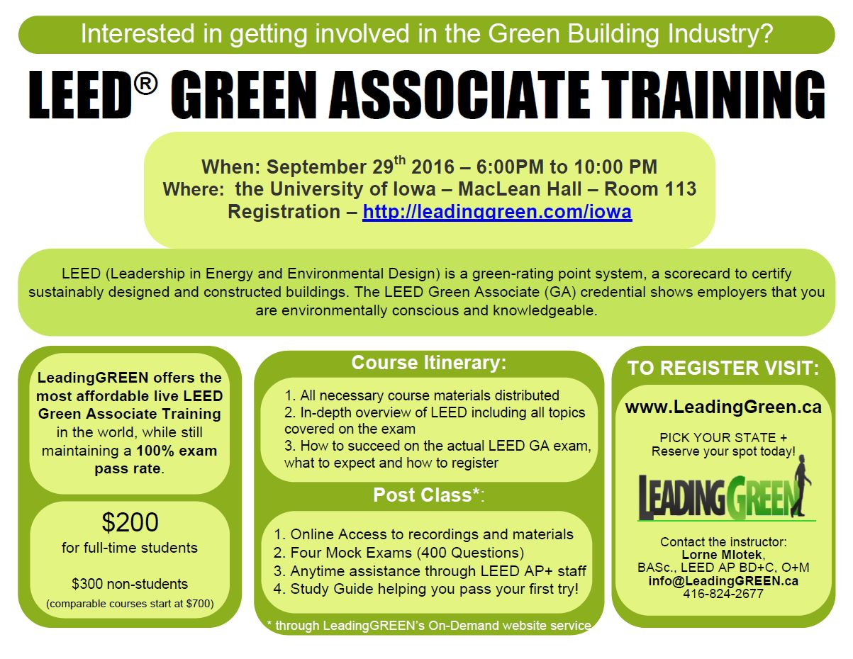 Leed Certification Department Of Geographical And Sustainability