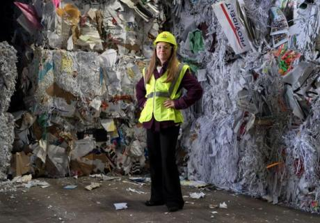 New recycling coordinator on a mission to lessen UI's trash footprint