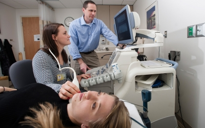 Physicians in the Translational Vascular Physiology Laboratory.