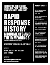 Rapid Response History Monuments and Their Meanings (Monuments and Memorialization)