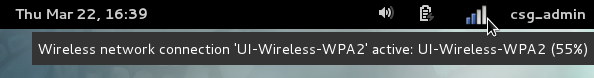 Screenshot of the Wireless Access Instructions for Fedora 16