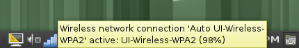 Screenshot of the Wireless Access Instructions for openSuSE 11.4