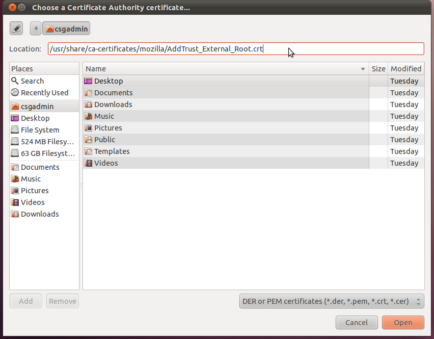Screenshot of the Wireless Access Instructions for Ubuntu 11.10