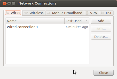 Screenshot of the Wireless Access Troubleshooting for Ubuntu 12.04