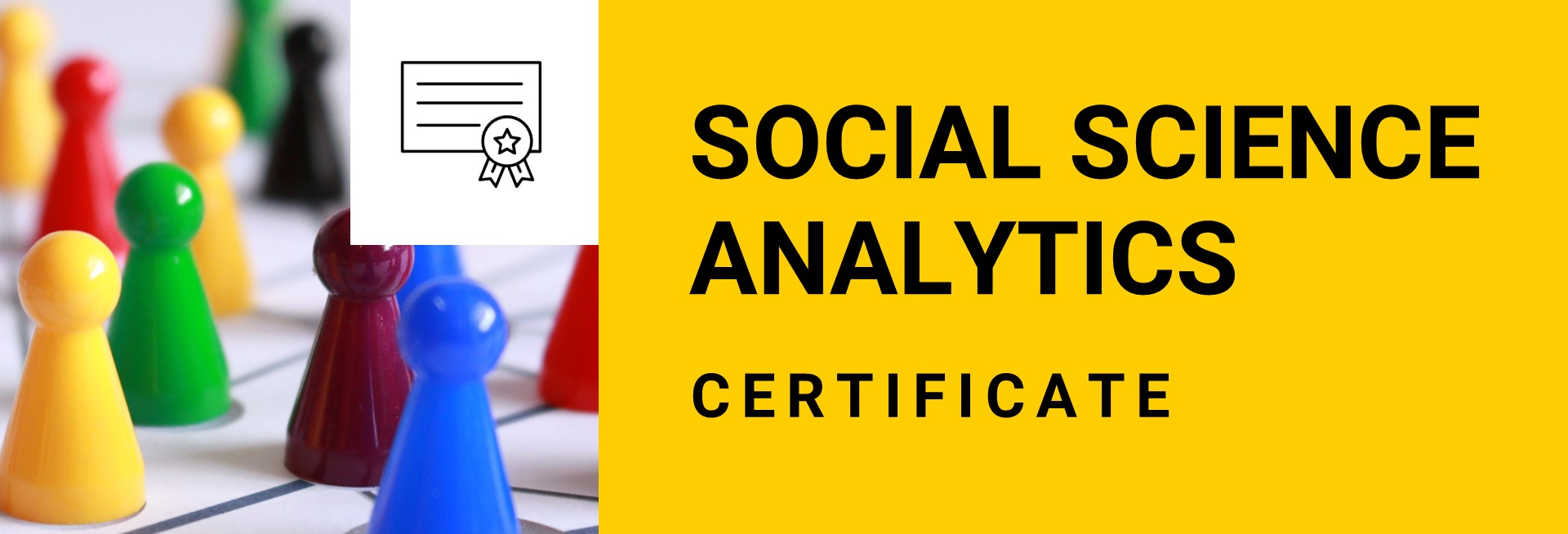Social Science Analytics Certificate