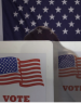 flag and voting image