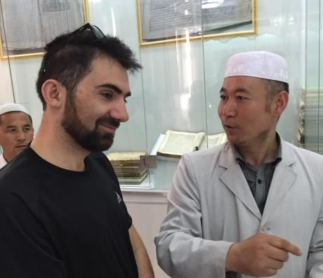 Cuma Özkan and Ma Wenbao