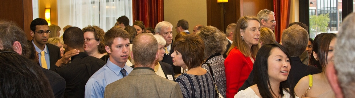 Scholarship guests and attendees.