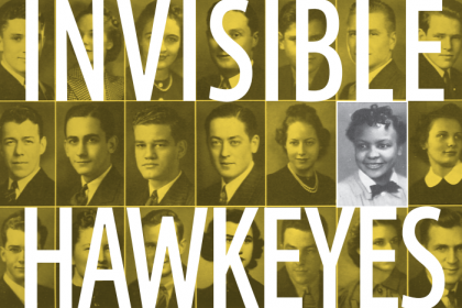 Detail from Invisible Hawkeyes book jacket