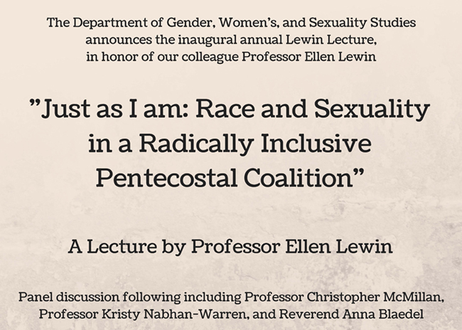 lecture flyer