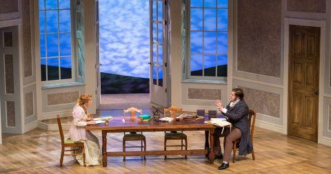 scene from Arcadia play