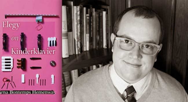 Book jacket and photo of Arne Bontemps Hemenway