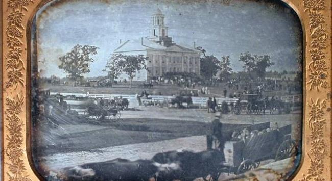 daguerrotype of Old Capitol