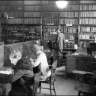 Schaeffer Hall library.