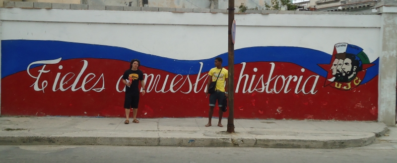 UI student studying abroad in Cuba
