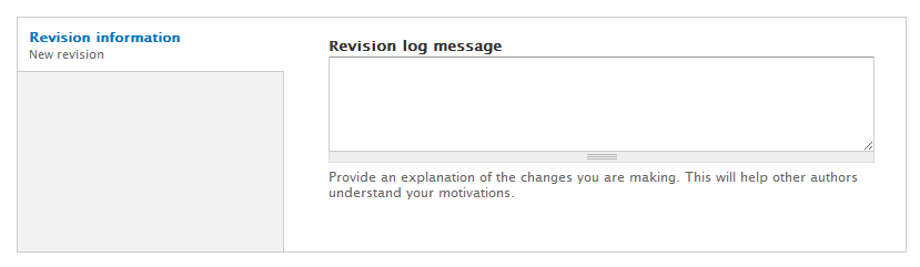 Revision Information Image